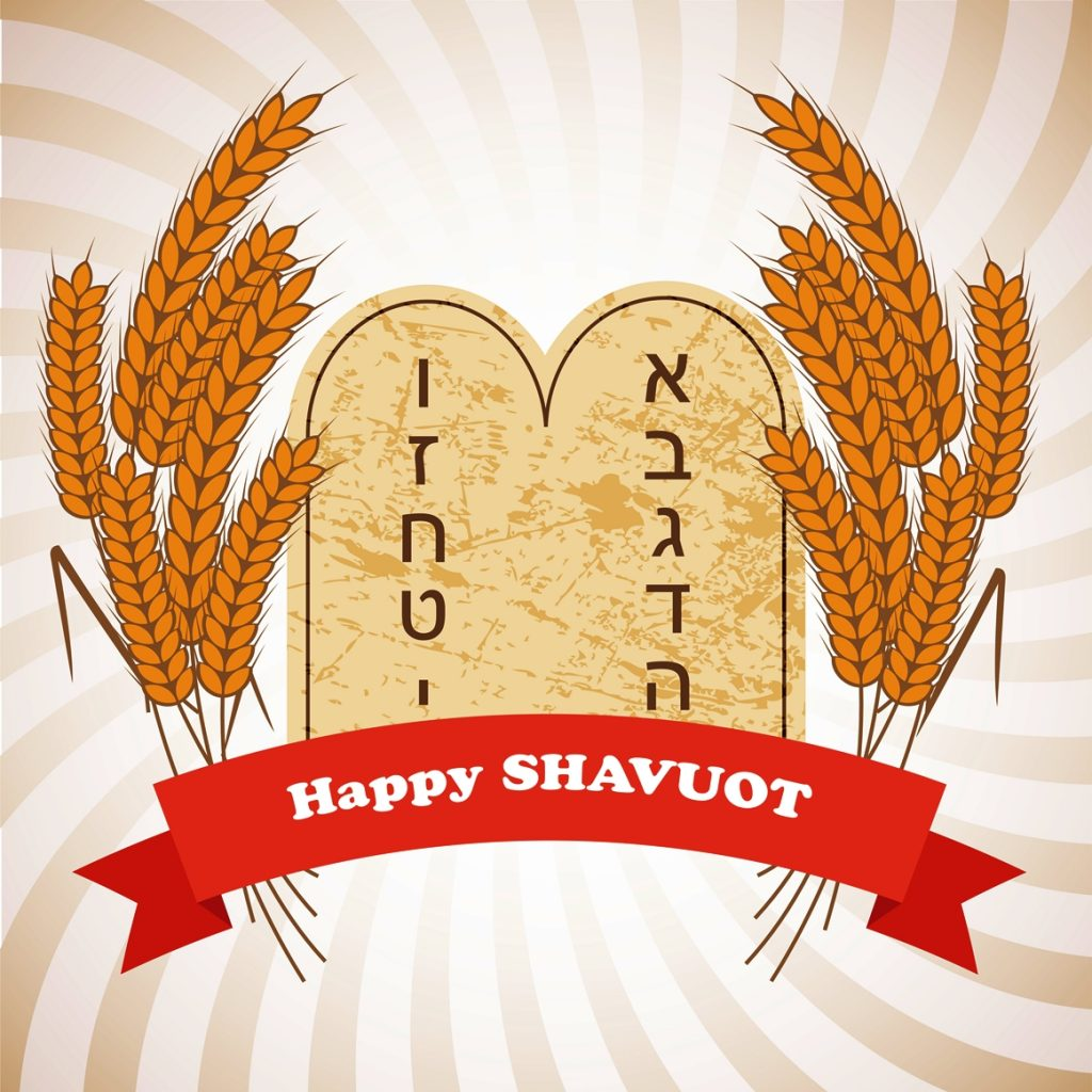 Illustration of Shavuot holiday